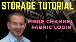 Fibre Channel SAN Tutorial Part 3 - Fabric Login (new version)