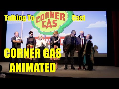 CORNER GAS ANIMATED  Talking To Cast at Private Screening