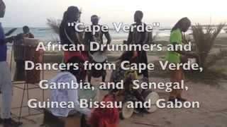 African Drummers In Sal, Cape Verde