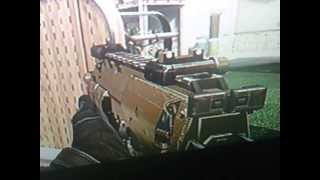 Me Showing My MP7 Golden Gun Call of Duty Black Ops 2