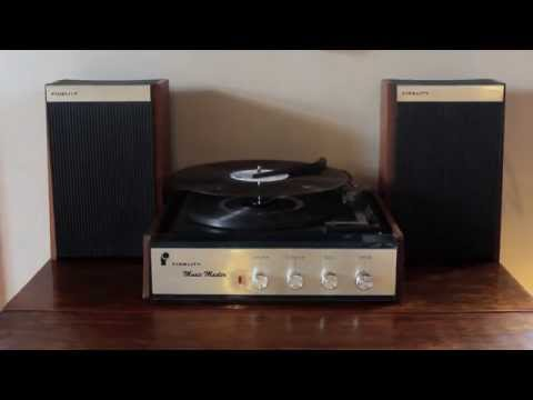 Fidelity Music Master (Vintage Record Player)
