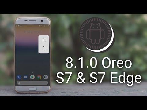 LineageOS 15.1 (Oreo 8.1) on Galaxy S7 & S7 Edge