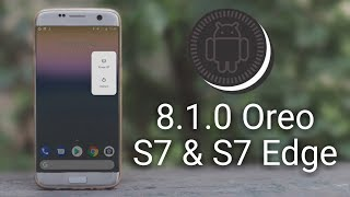 LineageOS 15.1 (Oreo 8.1) on Galaxy S7 & S7 Edge