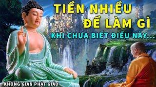 Tiền Nhiều Để Làm Gì ? Phật Dạy Giới Hạn Hạnh Phúc Và Khổ Đau Là Do Điều Này Mà Ra - Nghe Để Hết Khổ
