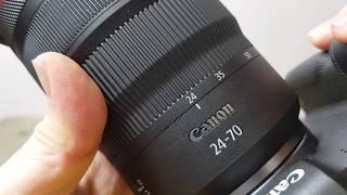 RF 24-70 F2.8 IS Lens AF Drive…