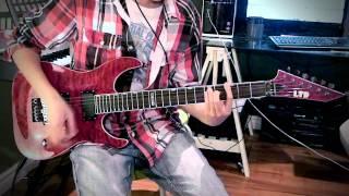 Cherry Pie by Warrant (Guitar Cover) /w solo - DefiableRiffs