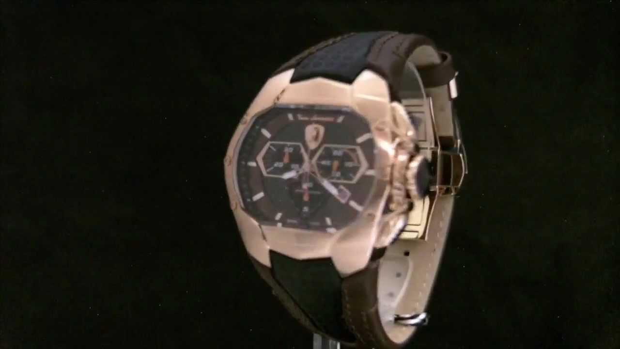 Tonino Lamborghini wrist watch - white luxury watch for men with .