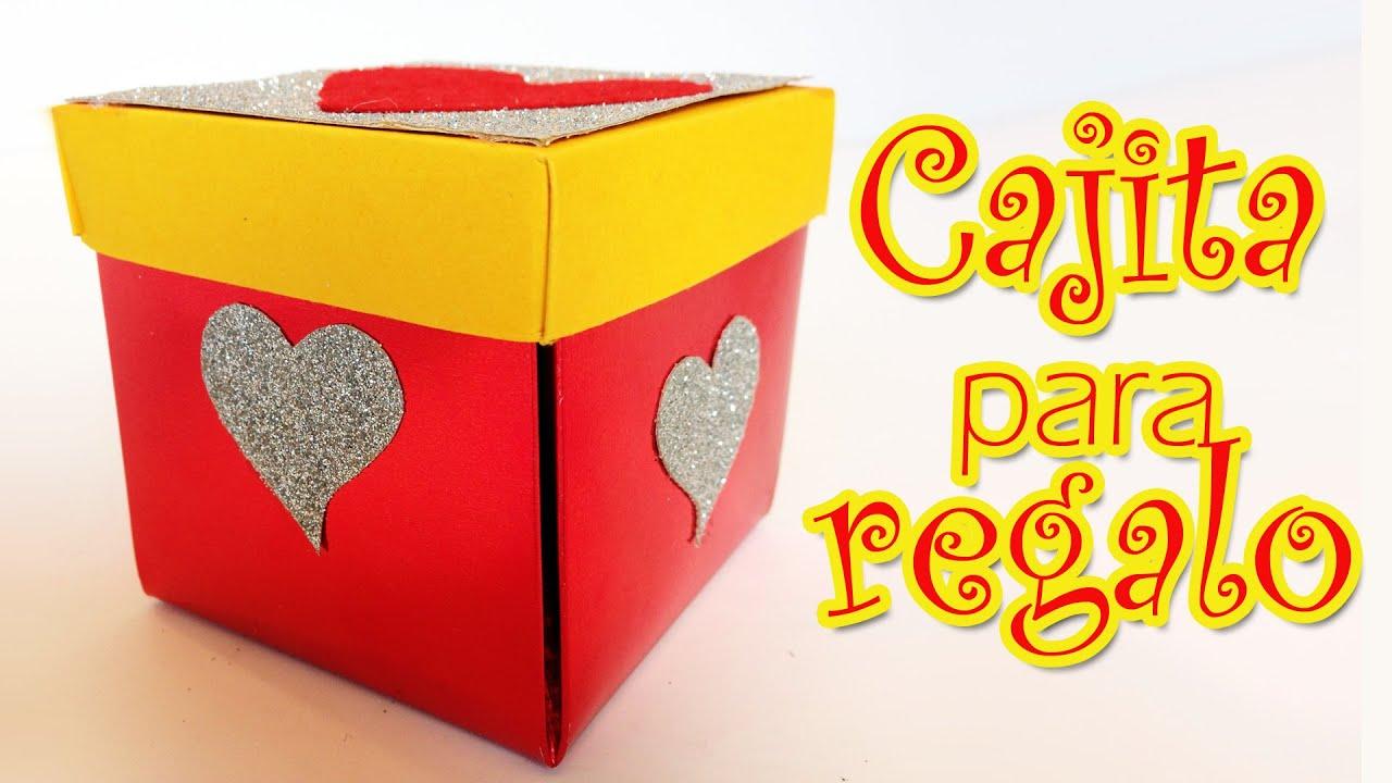 Caja para regalos de san valentin manualidades para - Cajas para manualidades ...