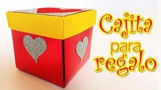 Caja para regalos con corazones - Dia de la Madre - Manualidades para todos- gift box