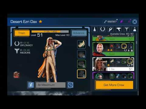 Star Trek Timelines -Tip #3 Crew Management (Uncommon & Common) for Cadet Challenges