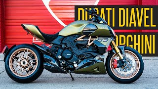Unboxing The First Ducati Diavel 1260 Lamborghini Motorcycle In America