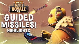 Guided Missiles!! - Fortnite Battle Royale Highlights - Ninja