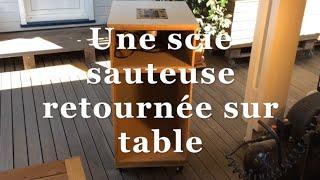 Scie sauteuse sur table