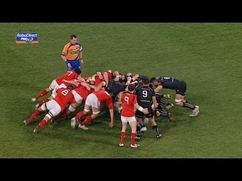 Richard Fussell Line Break Munster v Ospreys 02 March 2013
