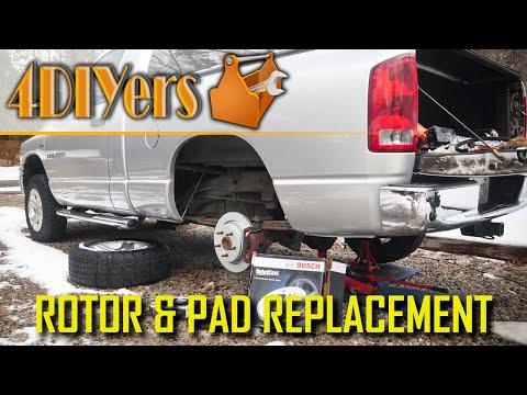 DIY: Dodge Ram 1500 Rear Brake Replacement