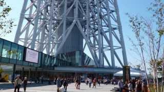 東京スカイツリーとソラマチに行ってみたのである。象気功:http://www....