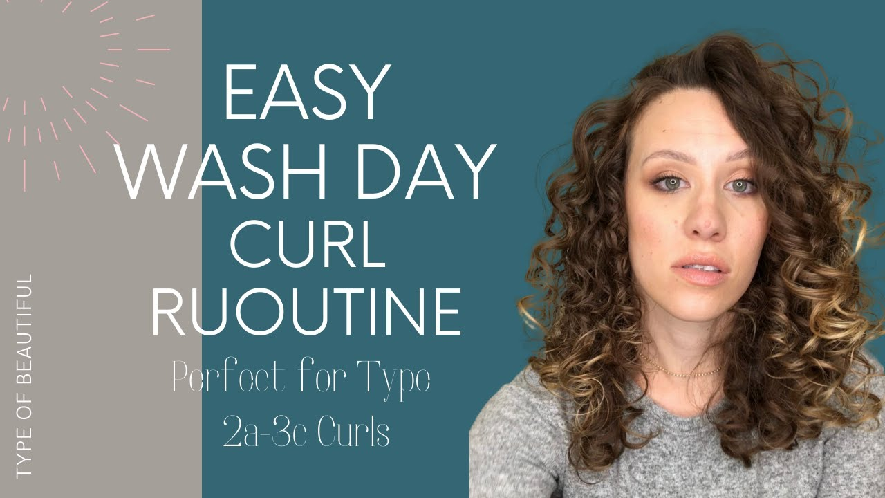Easy Curly Wavy Hair Routine For Beginners Wash Day Routine Ft Uncle Funky S Daughter Products Youtube