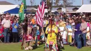 Poarch Creek Indian 45th Thanksgiving Pow Wow Grand Entry 2015