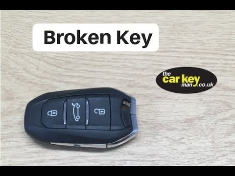 Citroen Picasso 2014 Fix Broken Car Key Youtube