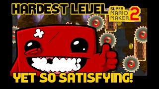 Super Mario Maker 2 (SMM2) - HARDEST LEVEL EVER!! Super Mario Boy  - No Commentary