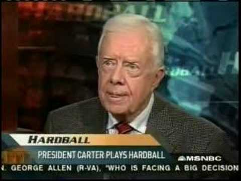 Jimmy Carter: Israel's Apartheid