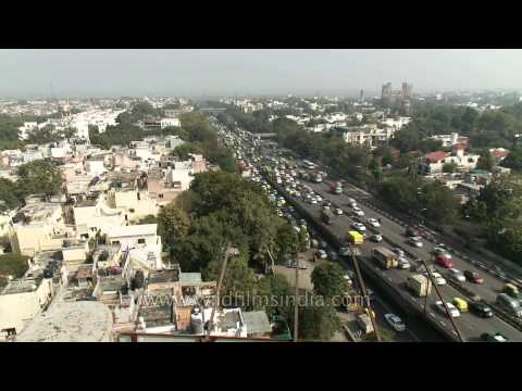 India's metropolitan capital city of Delhi