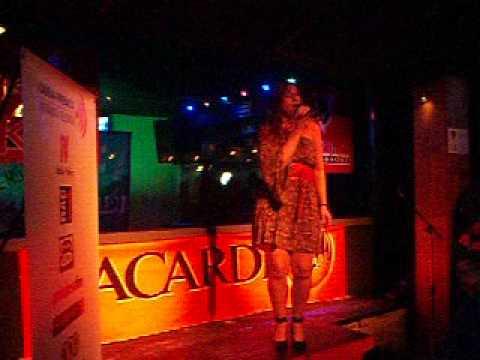 Laura. Mercy (Duffy). Concurs mundial de karaoke. Final d'Andorra 2012