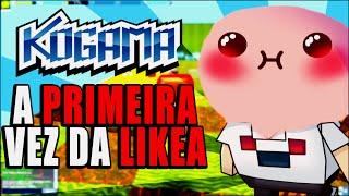 Kogama - A Primeira vez da Likea
