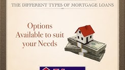 The Different Types of Mortgage Loans