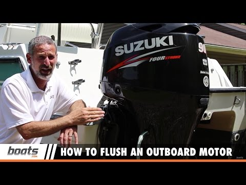 How to Flush an Outboard Motor