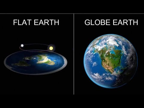 Flat Earth Globe Earth The Truth Revealed Show Me The Map