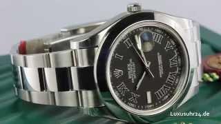 c564420c758a Rolex Datejust II 116300 5 Luxusuhr24 Ratenkauf ab 20 Euro Monat