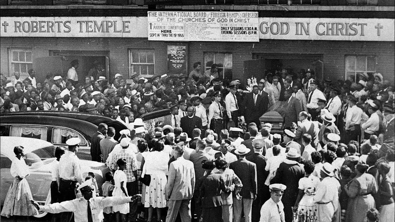 'Let the world see': Church where 100000 saw Emmett Till's open ...