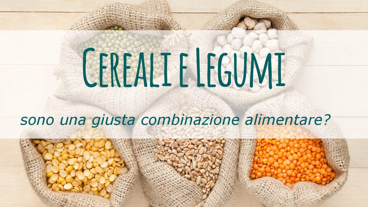 dieta a base di cereali e legumi