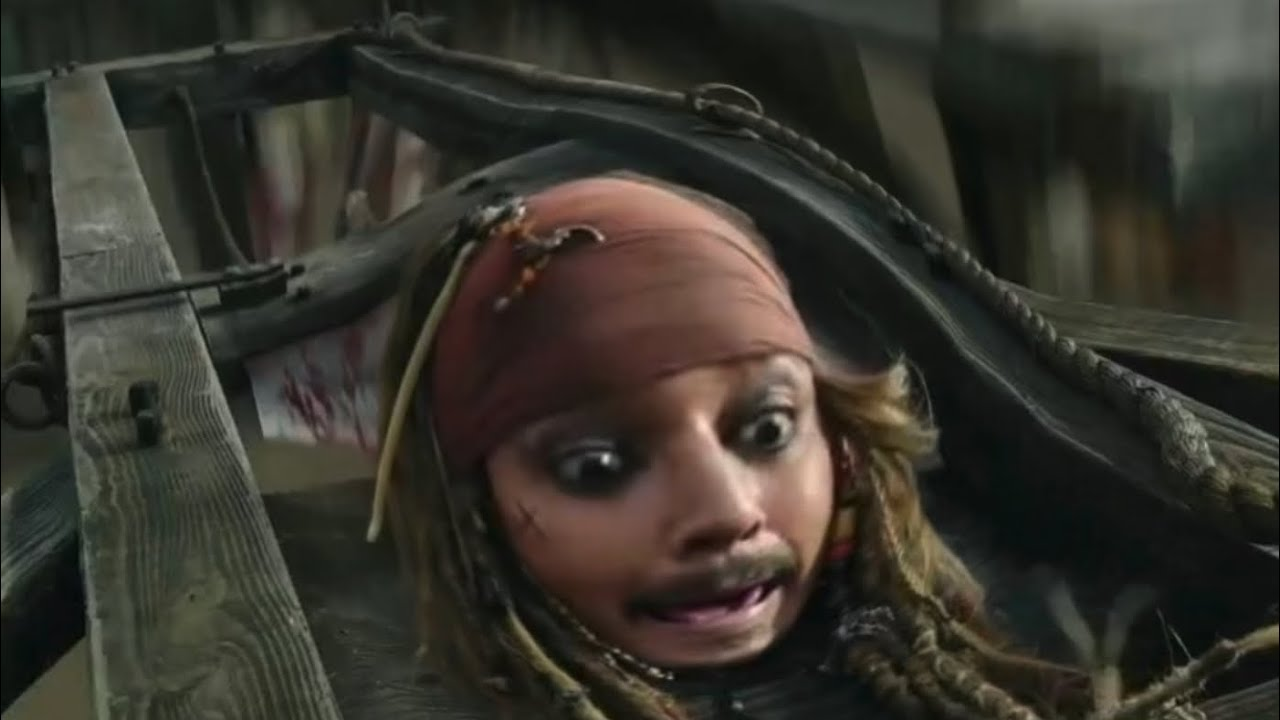 Pirates of the Caribbean but it's a meme