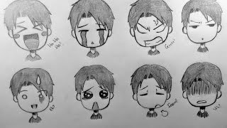 How To Draw 8 Different Chibi Emotions