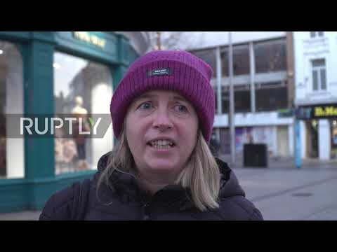 UK: N.Ireland locals fearful of post-Brexit prices, long queues at border checkpoints