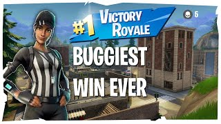 The Buggiest Win ever In Fortnite!!