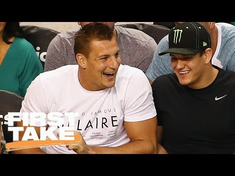 First Take Questions Rob Gronkowski's Offensive Jokes   First Take   June 27, 2017