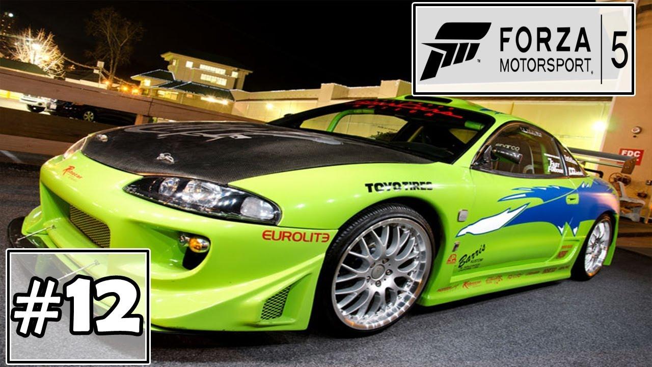 forza motorsport 5 xbox one eclipse gsx brian velozes