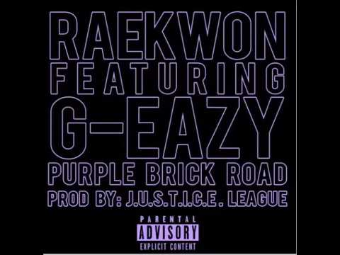 Raekwon - Purple Brick Road feat G-Eazy  NEW 2017