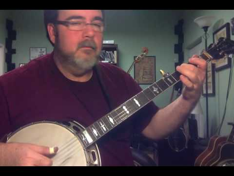 Silver Bells on Banjo.  Lesson in playing slow songs with inside patterns and non rolls.