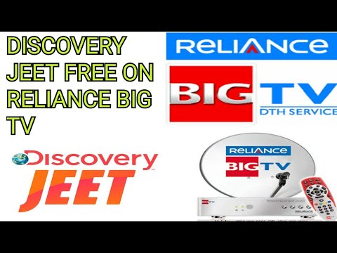 DISCOVERY jeet FREE TO AIR ON RELIANCE BIG TV