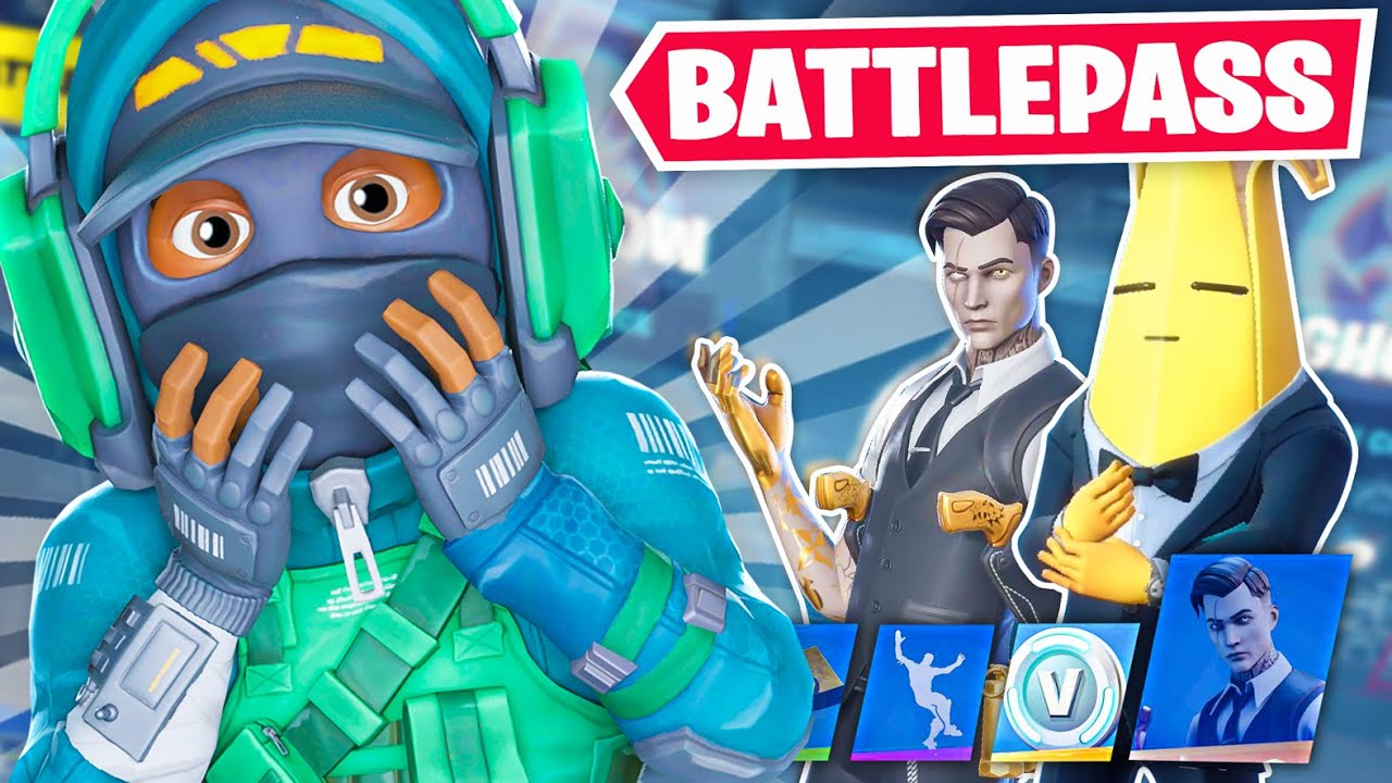 *NEW* SEASON 2 BATTLEPASS TIER 100 UNLOCKED In Fortnite! (Chapter 2) thumbnail