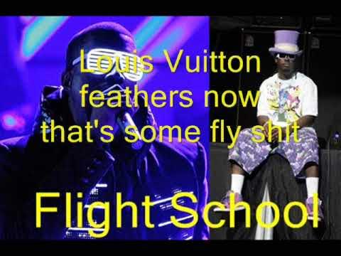 Kanye West Feat T pain Flight School + Lyrics