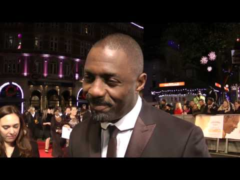Idris Elba Intervew - Mandela: Long Walk to Freedom Premiere
