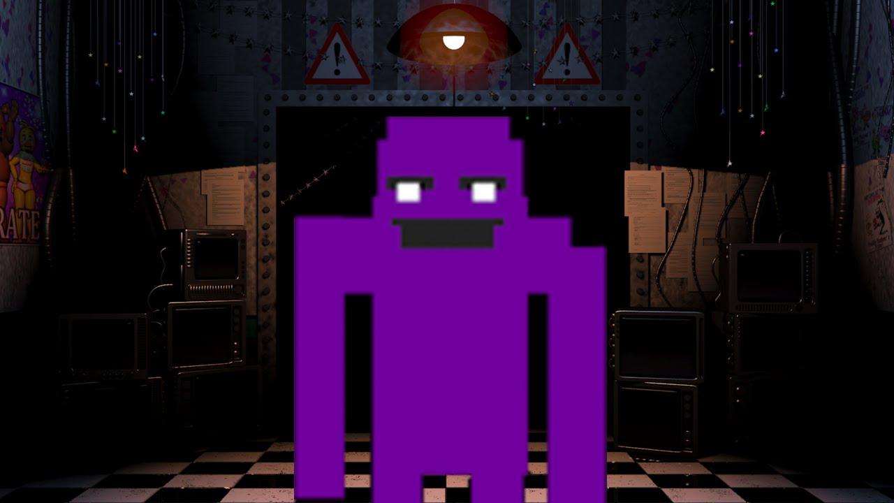 [FNAF MOD] Purple Guy (Man) Mod