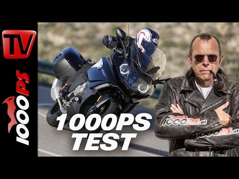 1000PS Test - BMW K1600GT | Präsidentenfuhre mit SOS-System | Crash-Test