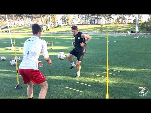 INTENSE Soccer Training | Joner 1on1 | Number 1 Private Training in Australia