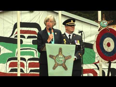 PJ15 Opening Ceremonies: Lieutenant Governor of BC speaks